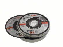 BOSCH Rapido INOX fémvágó tárcsa 125 mm-es 10 db + fém tárolódobozban (2608603255)