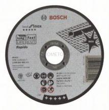 Bosch Darabolótárcsa, egyenes, Best for Inox – Rapido