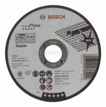 Bosch Darabolótárcsa, egyenes, Best for Inox – Rapido 125mm (2608603492)