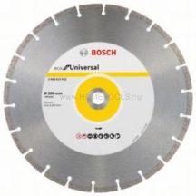 Bosch ECO For Universal gyémánt darabolótárcsa univerzális használatra, asztali és benzinüzemű körfűrészekhez több méretben