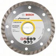 Bosch ECO For Universal gyémánt darabolótárcsa 115 mm (2608615036)