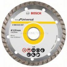 Bosch ECO For Universal gyémánt darabolótárcsa 125 mm