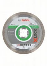 Bosch Standard for Ceramic X-LOCK gyémánt vágótárcsa, 125x22,23x1,6x7