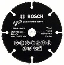 BOSCH GWS 12V-76 karbid Multi vágótárcsa (2608623011)
