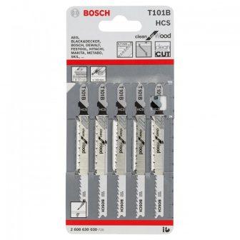 BOSCH T 101 B szúrófűrészlap fához 5db/csomag (2608630030)