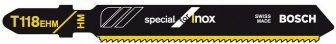 BOSCH Szúrófűrészlap T 118 EHM Special for Inox (2608630665)