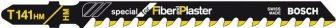 BOSCH Szúrófűrészlap T 141 HM Special for Fiber and Plaster (2608633175)