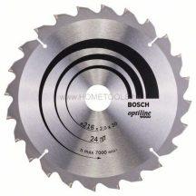 BOSCH Optiline Wood körfűrészlapok asztali körfűrészekhez (2608640431)