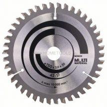 BOSCH Multi Material körfűrészlapok kézi körfűrészekhez (2608640501)