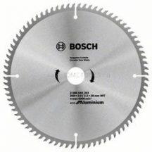 Bosch Eco for Aluminium körfűrészlap gérvágó és asztali körfűrészekhez (2608644393)