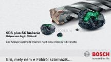 BOSCH SDS-plus-5X vasbeton fúrószár