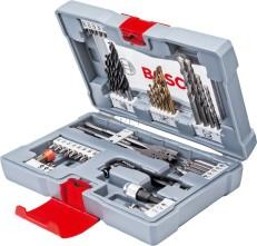 Bosch 49 részes Premium X-Line fúró készlet és csavarozó bit készlet (2608P00233)