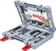 Bosch 76 részes Premium X-Line fúró készlet és csavarozó bit készlet