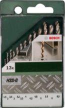 BOSCH HSS-G 13 részes fémfúrókészlet