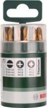BOSCH Titánium 10 részes csavarozóbit-készlet (2609255978)