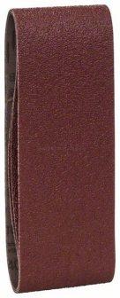 BOSCH 3 részes csiszolószalag-készlet szalagcsiszolókhoz, piros minőség 75*457-es méret (2609256204)