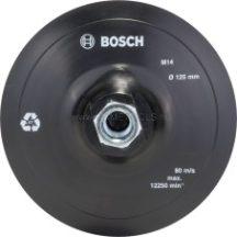 BOSCH Gumi csiszolótányér sarokcsiszolóhoz, tépőzáras rendszer, 125 mm (2609256272)