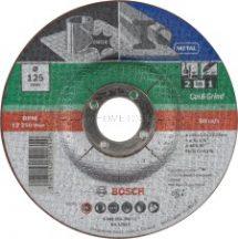 Bosch 2 az 1-ben tárcsa, daraboló- és nagyolótárcsa, fém és Inox 125mm (2609256309)