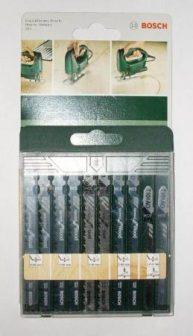 BOSCH szúrófűrészlap készlet 10 db-os vegyes fa készlet (2609256744)