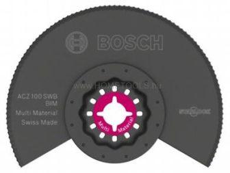 BOSCH ACZ 100 SWB BIM hullámos élezésű szegmens kés (2609256976)