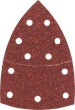 BOSCH csiszolólapkészlet multicsiszolókhoz 102 x 62/93 mm  10 részes (2609256A61)