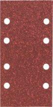 BOSCH csiszolólapkészlet rezgőcsiszolókhoz 93 x 185, 10 részes