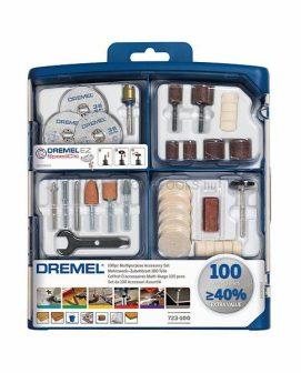 DREMEL 100 darabos többcélú tartozékkészlet (723)