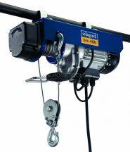 Scheppach HRS 400 - elektromos drótköteles csörlő-emelő