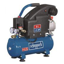 Scheppach HC 08 - olajkenésű kompresszor 8 l