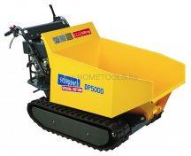 Scheppach DP 5000 - hernyőtalpas szállítógép hidraulikus billenéssel és 500 kg-os terheléssel