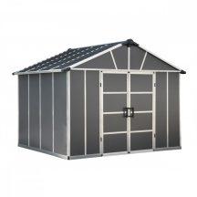 Palram Yukon 11x9 antracit kerti ház