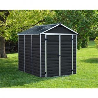 Palram Skylight 6x8 szürke polikarbonát kerti tároló - kerti ház (702302)