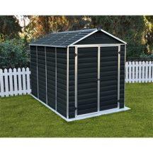 Palram Skylight 6x10 antracit polikarbonát kerti tároló - kerti ház - akár összeszereléssel is rendelheti