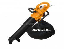 Riwall PRO REBV 3000 elektromos lombszívó/lombfúvó - választható ajándékkal