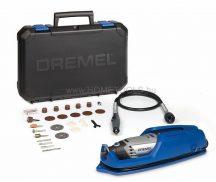 DREMEL 3000 multifunkcionális szerszám 25 tartozékkal és flexibilis szárral és falitartóval (3000-1/25 EZ)