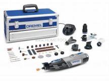 DREMEL® 8220 akkus multifunkcionális szerszámgép 2 akkuval + 65 kiváló minőségű Dremel tartozék (F0138220JK)