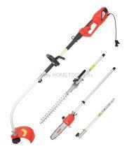 HECHT 690 3IN1 Elektromos magassági ágvágó/sövénynyíró/fűszegélyvágó szett 900W