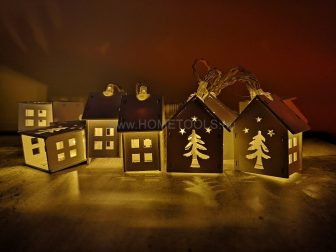 RETLUX RXL 168 LED VILÁGÍTÓ FESTETT FAHÁZ MELEG FEHÉR - Karácsonyi LED világítás