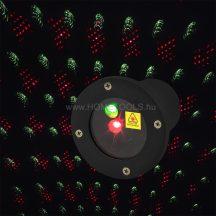 RETLUX RXL 290 kültéri színes lézerprojektor piros/zöld fényű épülethomlokzat világításra