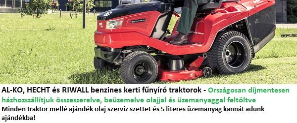 Kerti fűnyíró traktorok