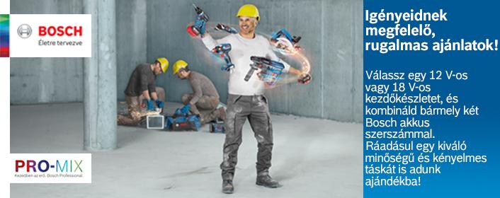 Bosch 18 voltos Promix akció